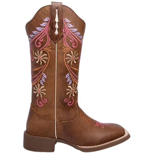 Bota Texana Feminina 1477 Crazy Horse Castanho