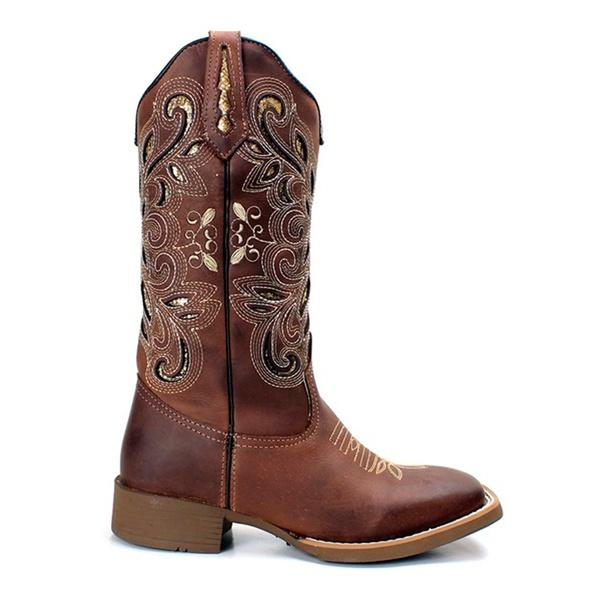 Bota Texana Feminina High Country 1447 Crazy Horse Café