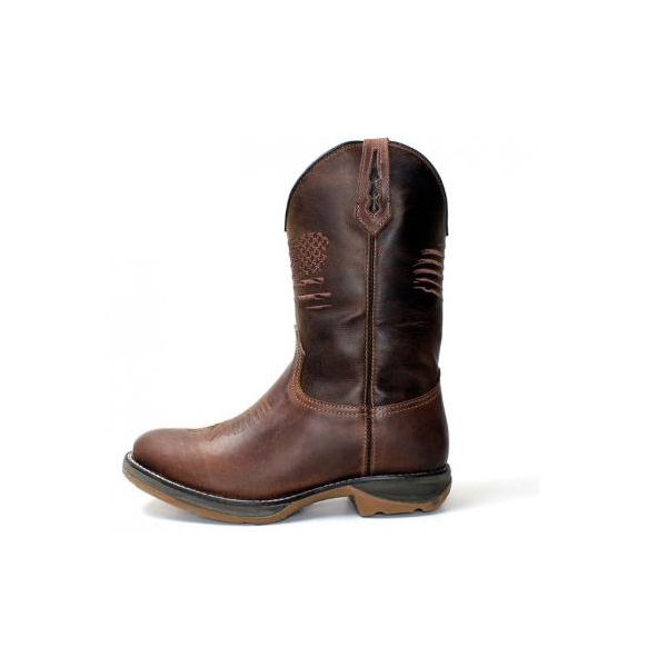 Workboot Flag Western High Country 2209 Fossil Brown