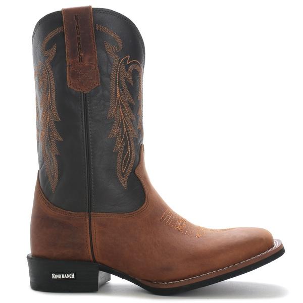 Bota Texana King Ranch 3525 Mad Dog Conhaque