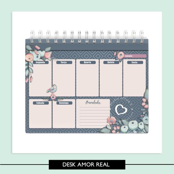 Desk Planner - Amor é Real - A5
