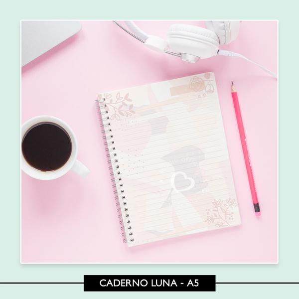 Miolo para Caderno - Luna