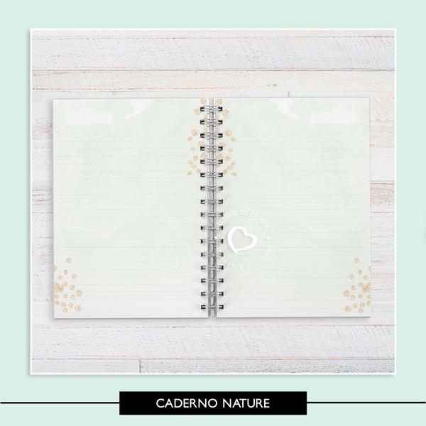 Miolo para Caderno * Nature