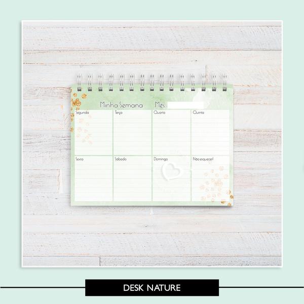 Desk Planner - Nature