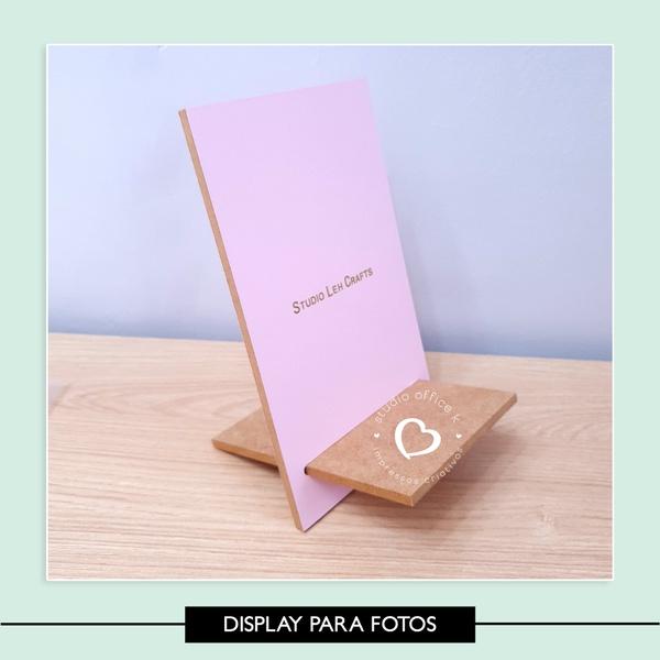 Display para Fotos