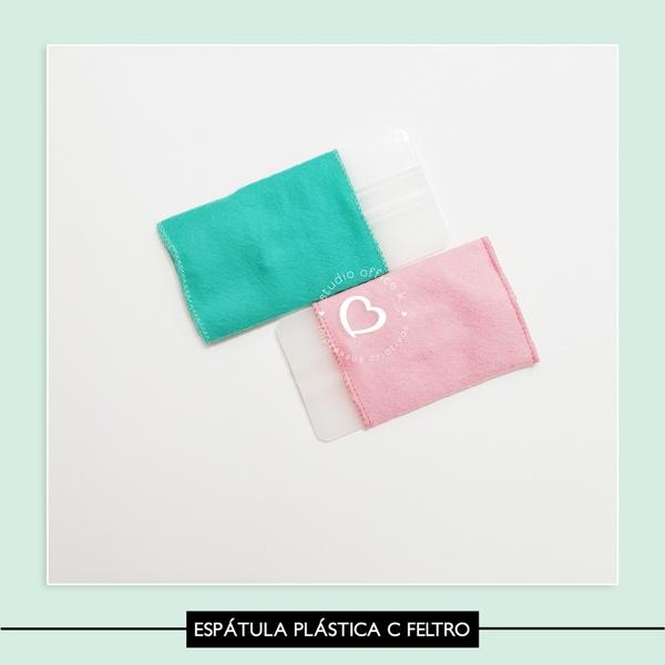 Espátula Plástica com feltro