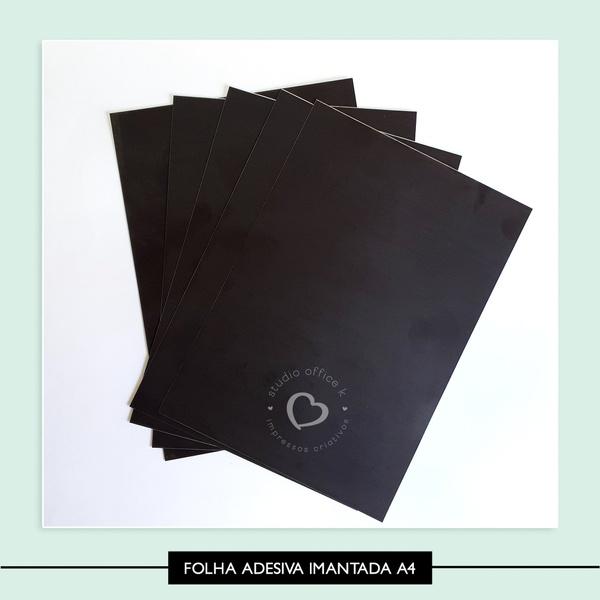 Folha Imantada Adesiva - A4