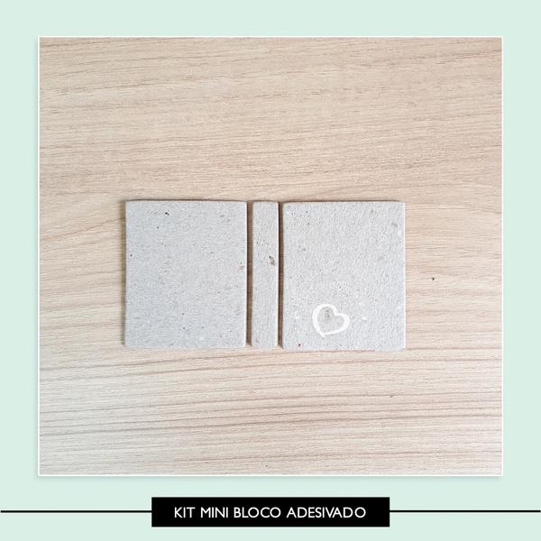 Kit para Mini Bloco Adesivado