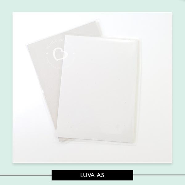 Luva Plástica A5 - 16,5 X 22,5 cm
