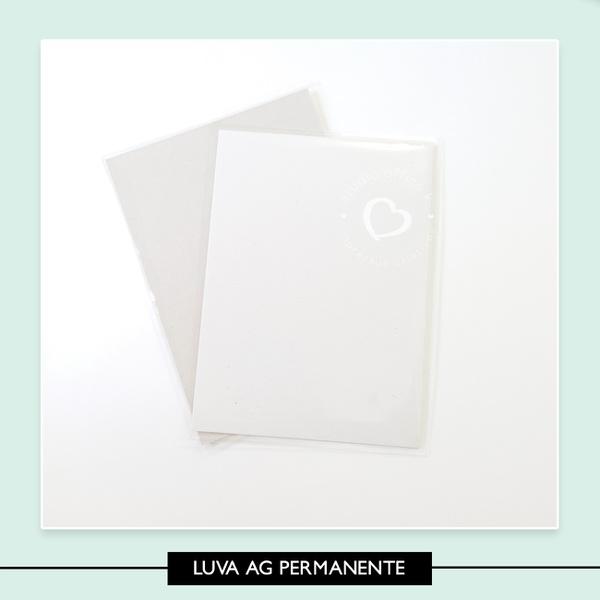 Luva Plástica * Agenda Compacta Permanente