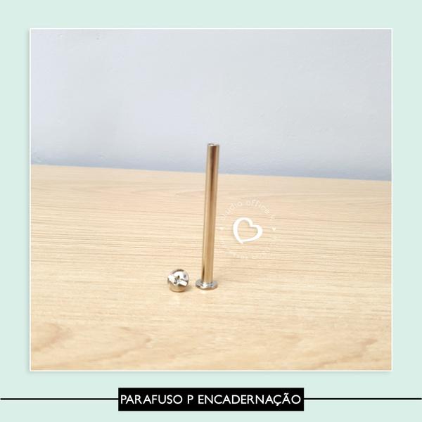 Parafuso para encadernação - 6 cm