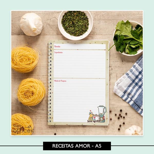 Caderno de Receitas * Amor