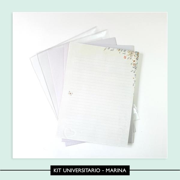 Kit universitário - Marina