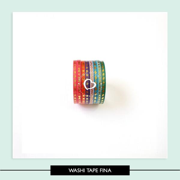 Washi Tape - Extra fina