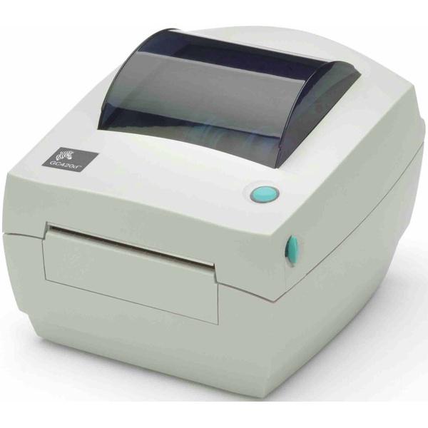Impressora de Código de Barras GC420 TT 203 DPI USB/Serial/Paralela Zebra