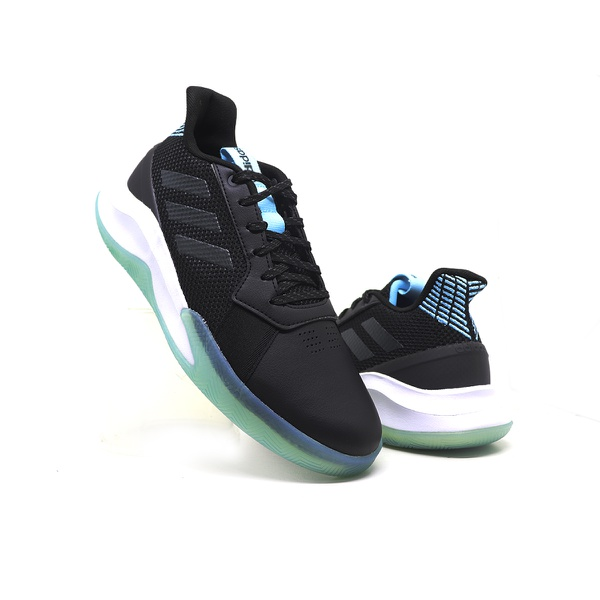 Tênis Masculino Run The Game m Adidas Preto e Azul