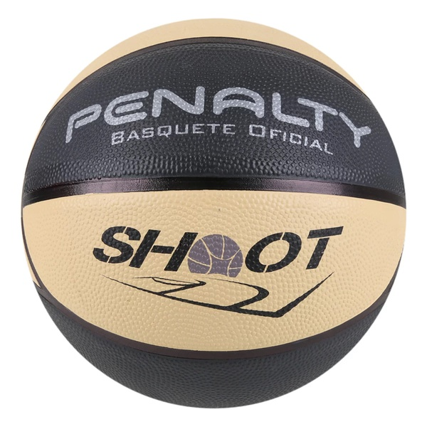 Bola de Basquete Penalty Shoot X - Preto e Bege
