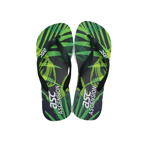 Chinelo Tropical Ascension Masculino - Verde e Preto