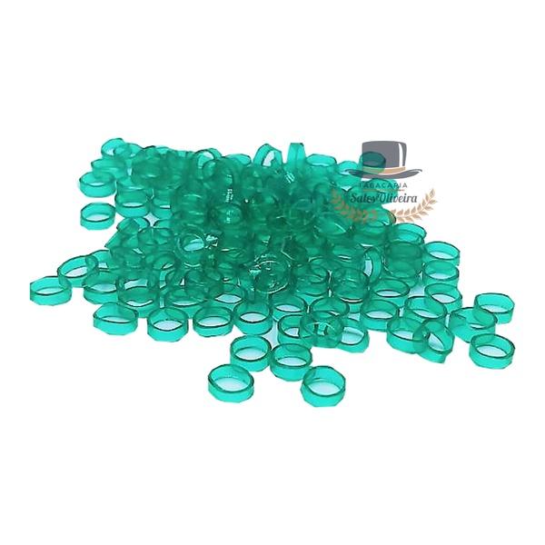 Argolinhas, Gominhas ou Canudinhos para Cigarro de Palha - 5,5mm - Verde