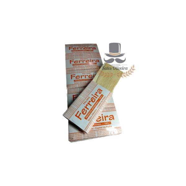Palhas para cigarros Ferreira Tipo I (50 maços de 10 palhas) 500 unid