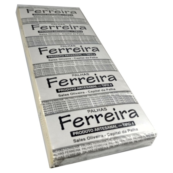 Palhas para cigarros Ferreira Tipo IV (50 maços de 10 palhas) 500 unid