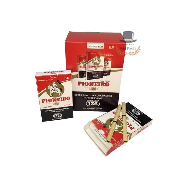 Palheiros Pioneiro Extra - Display com 10 maços de 20 cigarros