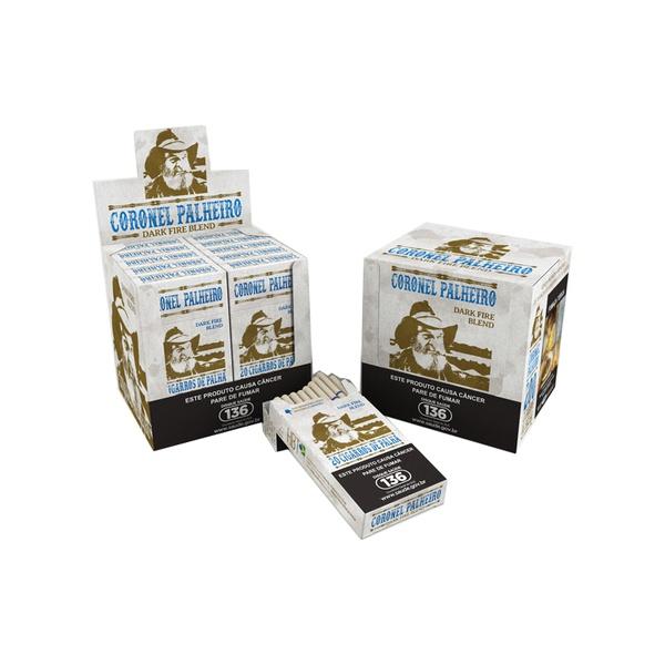 Coronel Palheiro Dark Fire Blend - Display com 10 maços de 20 cigarros