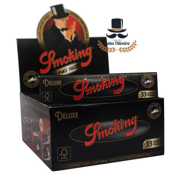 Seda Smoking Deluxe King Size (Caixa com 50 livretos)