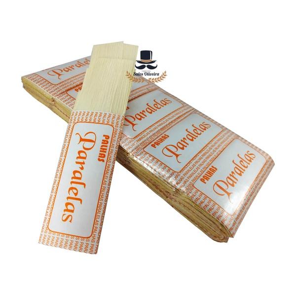 Palhas de Milho para cigarros Paralelas (50 maços de 10 palhas) 500 unid