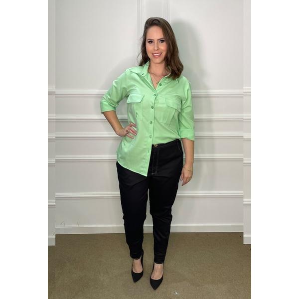 Camisa Verde Duda