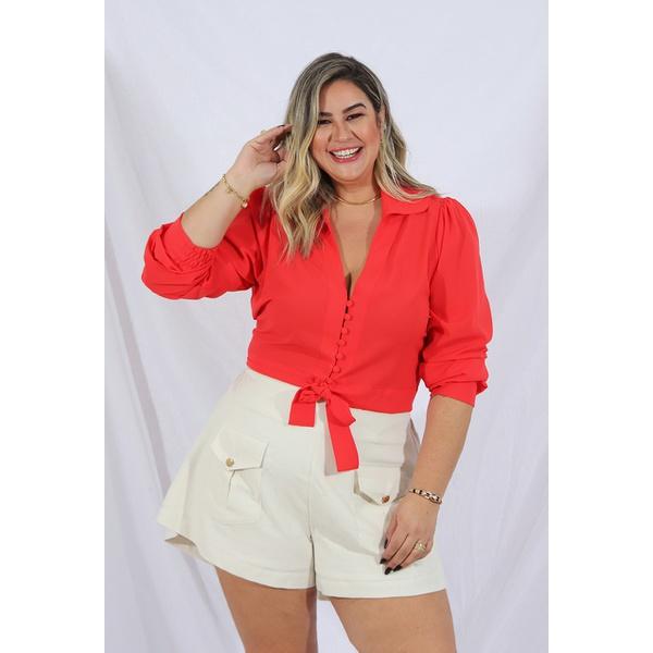 Camisa Dani Coral