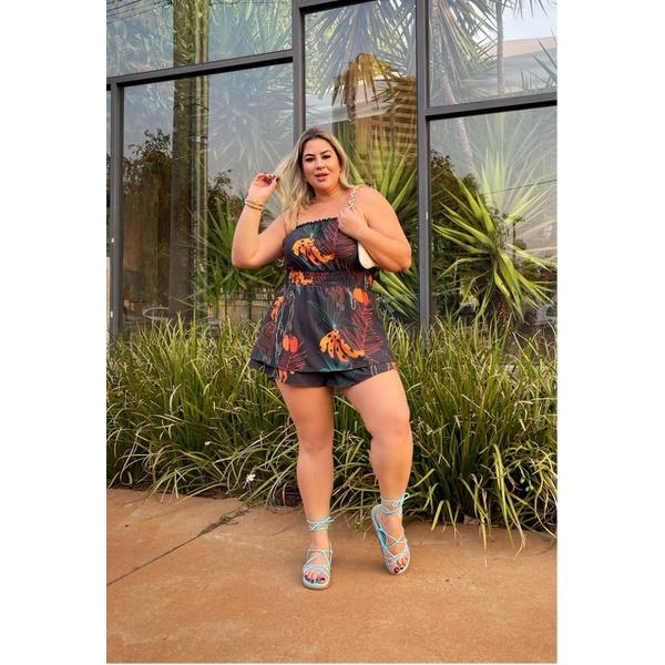 Macaquinho Leticia Floral