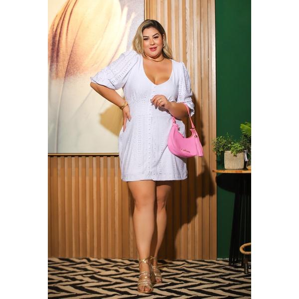 Vestido Hanna White