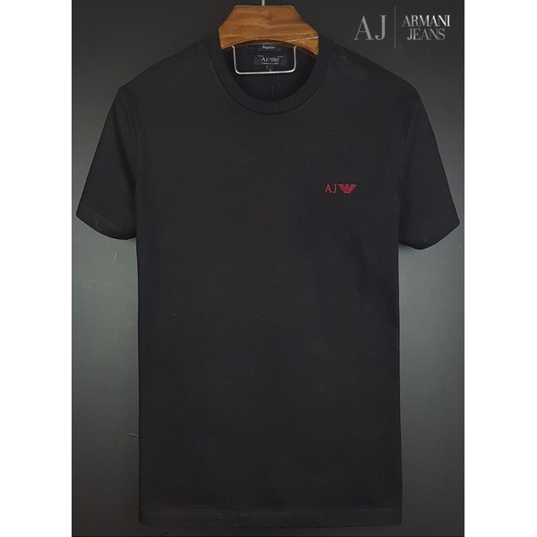 Camiseta Armani Preto Básica