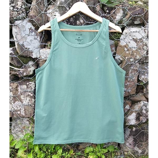 Camiseta Regata Ellus Verde Musgo
