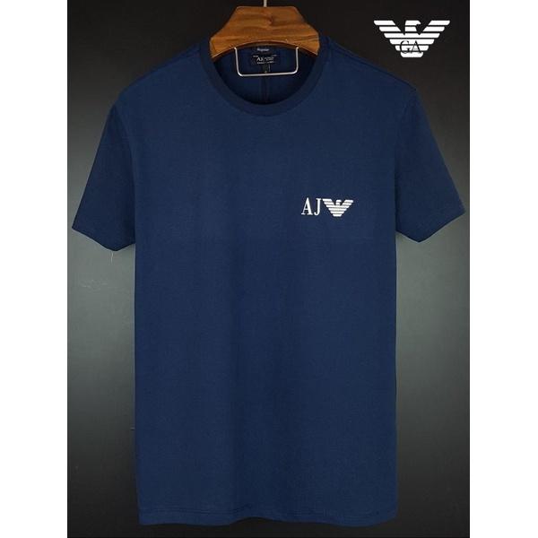 Camiseta Armani Marinho