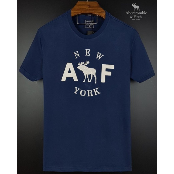 Camiseta Abercrombie AEF Marinho