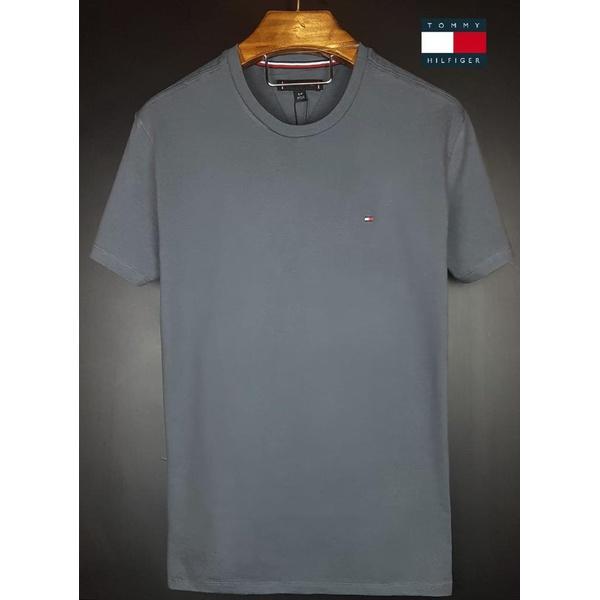 Camiseta Tommy Basica Cinza