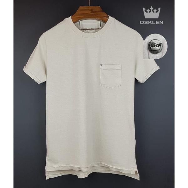 Camiseta Osk Creme corte diferente