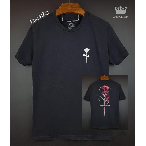 Camiseta Osk Preta rosa