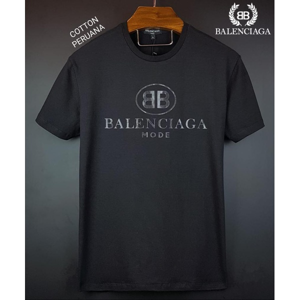 Camiseta Balenciaga Peruana Preta