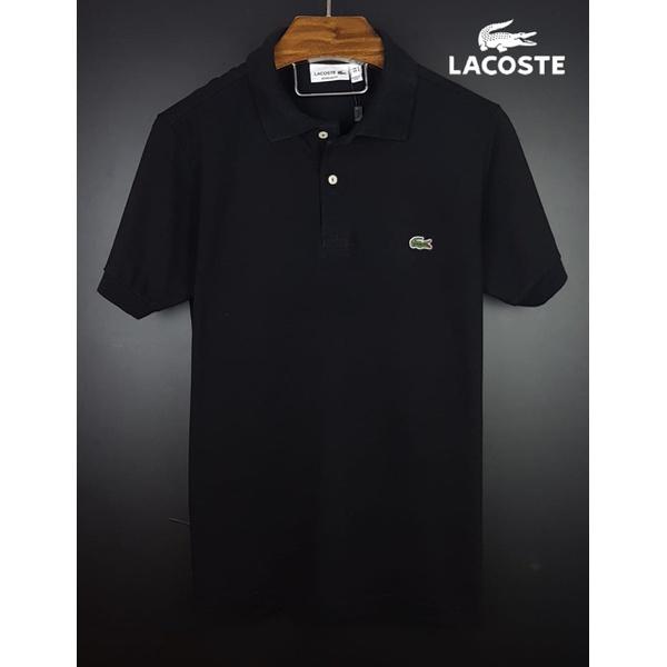 Camisa Gola Polo Lac Preta