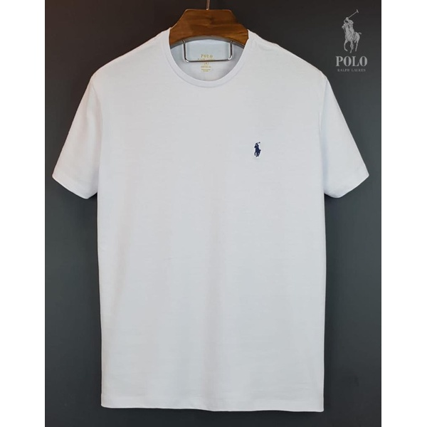 Camiseta Polo Branca Basica