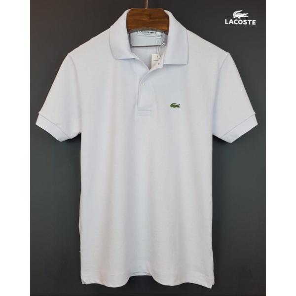 Camisa Gola Polo Lac Off White