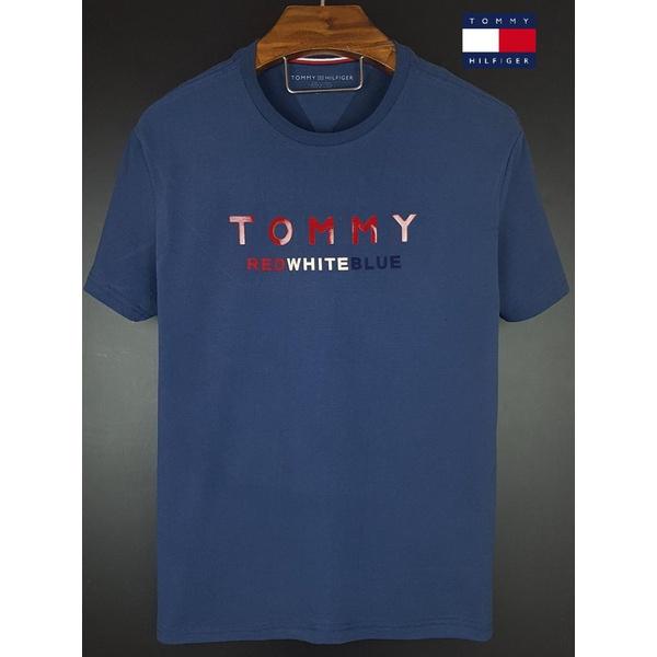 Camiseta Tommy Marinho red white blue