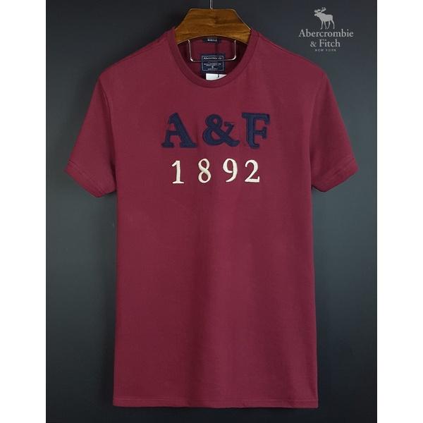 Camiseta Abercrombie AEF Vinho