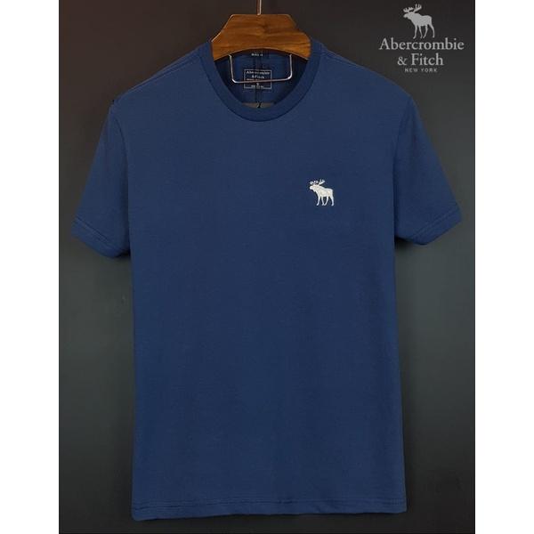 Camiseta Abercrombie Basica Marinho