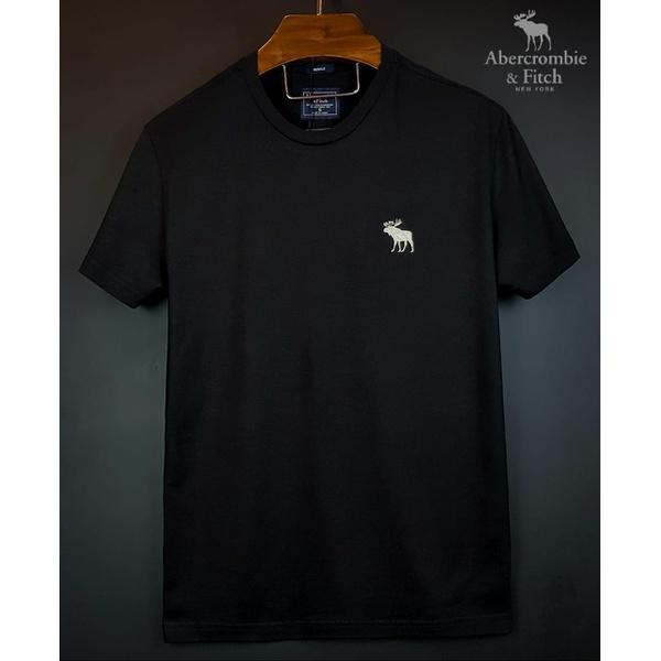 Camiseta Abercrombie Basica Preta