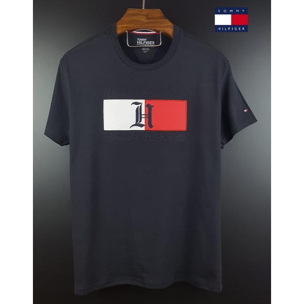 Camiseta Tommy Lewis Hamilton Preta