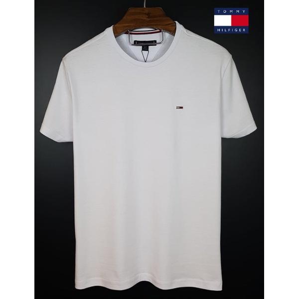 Camiseta Tommy Basica Branca
